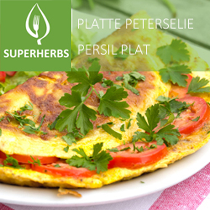 Platte peterselie